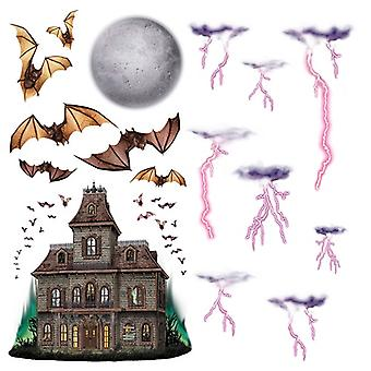 Haunted House & Night Sky Props 7