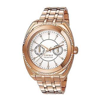 ESPRIT Дамы Климена наручные часы из нержавеющей стали EL102072F04 Розе