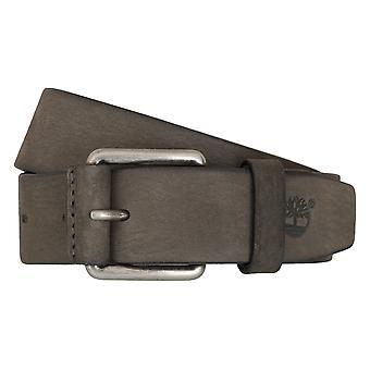 Cinture Cinture uomo Timberland in pelle grigio di jeans cintura 6765
