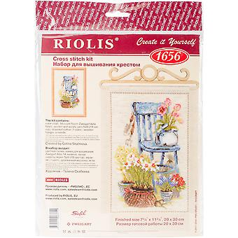 Cottage Garden Counted Cross Stitch Kit-8