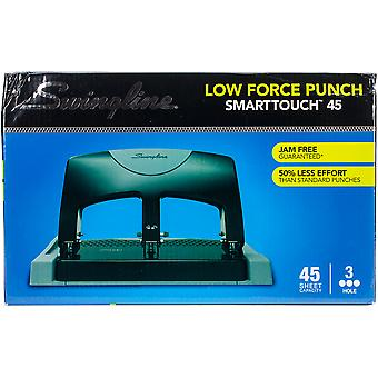 Swingline Smarttouch Low Force 3-Hole Punch-45 Sheet Capacity