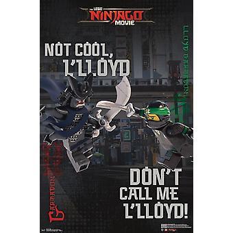 LEGO Ninjago - Kampf-Plakat-Druck