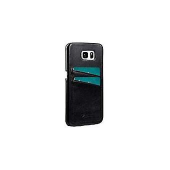 Melkco Cover With Dual Card Slot Galaxy S7 Edge Black
