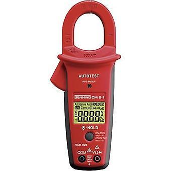 Benning CM 5-1 Clamp meter, Handheld multimeter Digital Calibrated to: Manufacturer's standards (no certificate) CAT II