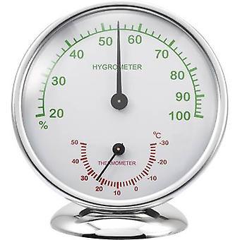Renkforce 6510 Alu Thermo-hygrometer Aluminium