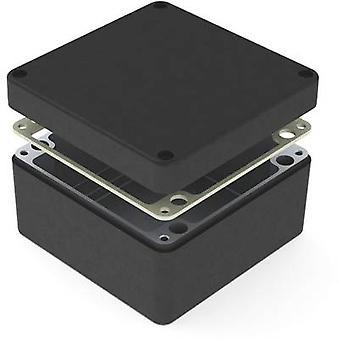 Deltron Gehäuse 487-161609B Universal-Gehäuse 160 x 160 x 90 Aluminium schwarz 1 PC