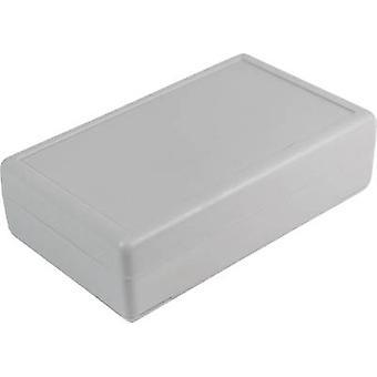 Desktop case 90 x 55 x 25 Acrylonitrile butadiene styrene Grey-white (RAL 7035) Axxatronic CRDCG0001-CON 1 pc(s)