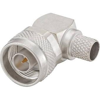 Conector N Plug, la derecha ángulo 50 Ω Rosenberger 53S205-317N5 1 PC