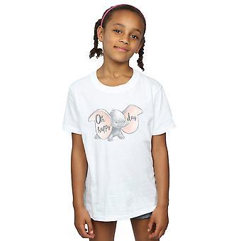 Disney Girls Dumbo Happy Day T-Shirt