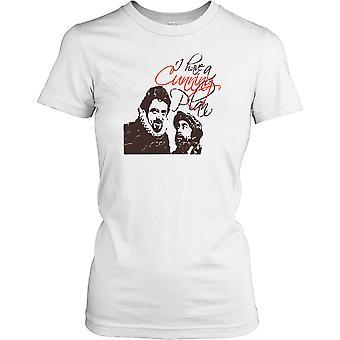 Ja mam chytry Plan - Baldrick Panie T Shirt
