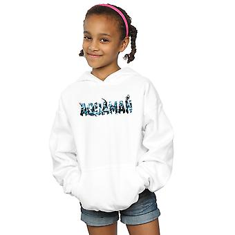 DC Comics Girls Aquaman Text Logo Hoodie
