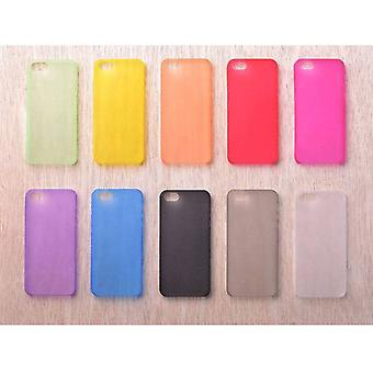 Stuff Certified ® Transparent Clear Silicone Case Cover TPU Case in 10 shades iPhone 4 4S