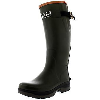 Womens Barbour Tempest Rubber Olive Waterproof Winter Wellingtons Boots