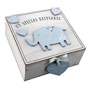 Petit Cheri Baby jongens geheugen Keepsake Box