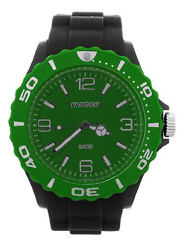 Waooh - MC42 Black Dial Watch & Bezel Color