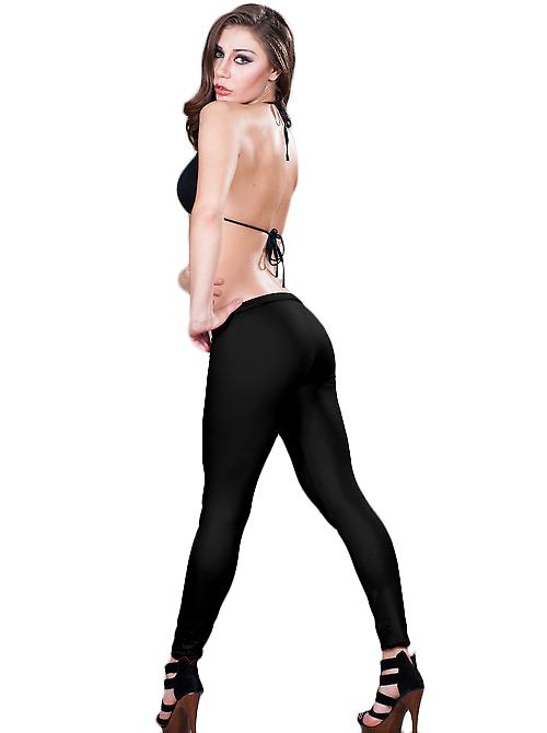 Waooh - mode - Tregging - satin Leggings