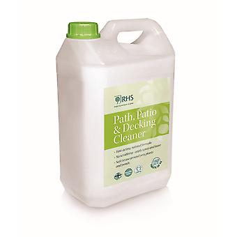 RHS 5L Path, Patio & Decking Cleaner | No scrubbing - apply/spray and leave