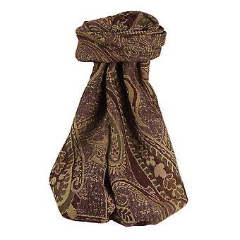 Muffler Scarf 2403 in Fine Pashmina Wool Heritage Range by Pashmina & Silk