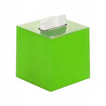 Gedy Rainbow Square Tissue Box Green RA02 04