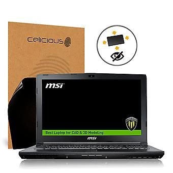 Celicious Privacy Plus 4-Wege Anti-Spy Filter Screen Protector Film kompatibel mit MSI Workstation WE62 7RJX