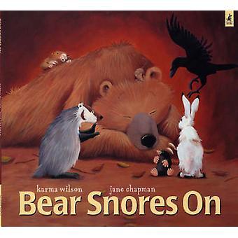 Bjørn snorker på av Karma Wilson - Jane Chapman - 9780743462099 bok