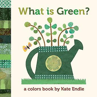 What is Green? - A Colors Book by Kate Endle - 9781570616488 Book