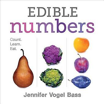 Edible Numbers by Jennifer Vogel Bass - 9781626722859 Book