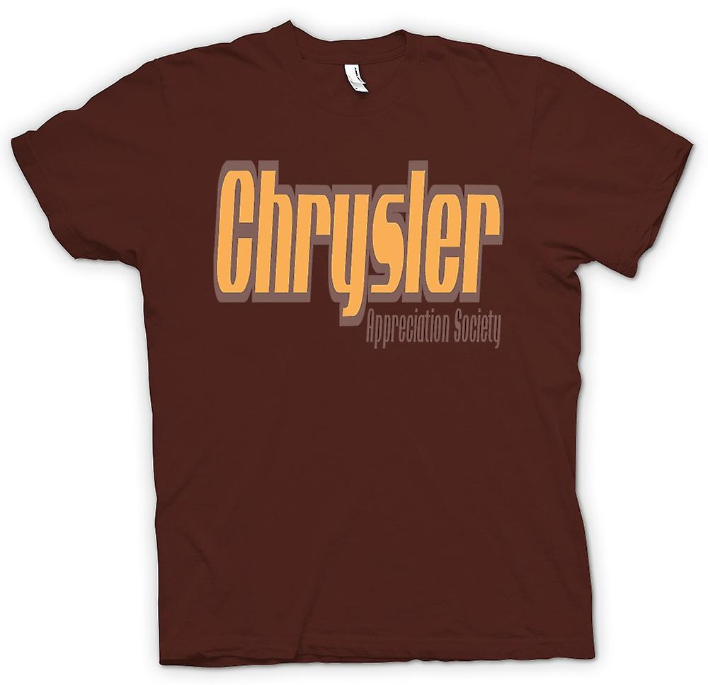 Mens T-shirt - Chrysler Appreciation Society