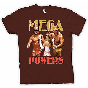 Kids T-shirt - Mega Powers - Hulk Wrestling