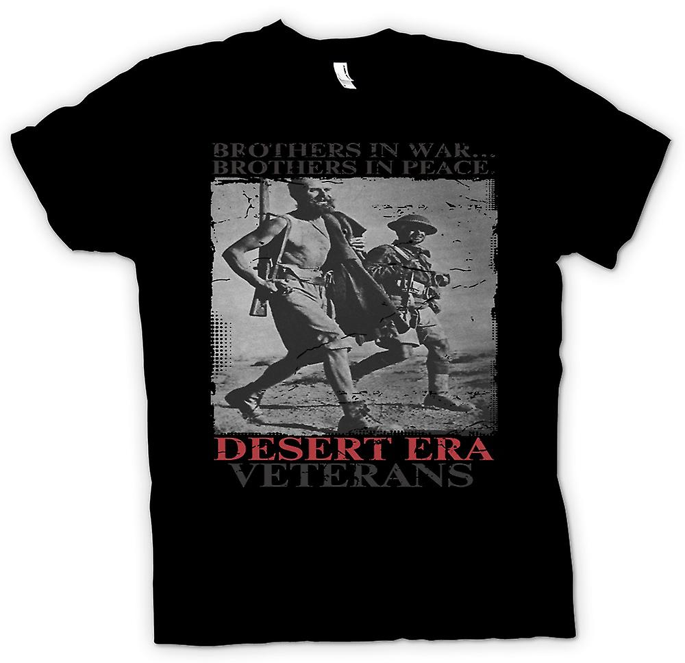 Womens T-shirt - Desert Era Veterans - Brothers In War