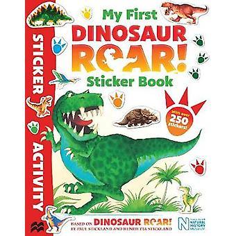 Mijn eerste gebrul van de dinosaurus! Sticker Book door Macmillan kinderboeken-