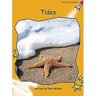 Tides: Level 4: Fluency (Red Rocket Readers: Non-fiction Set A)