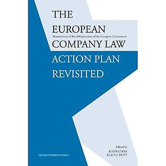 The European Company Law Action Plan Revisited: Reassessment of the 2003 Priorities of the European Commission