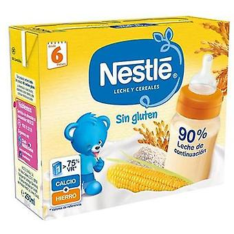 Nestlé Milk and Cereals without Gluten 2x250 ml (Childhood , Food , Cereals)