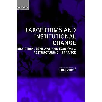Grote bedrijven en institutionele veranderingen industriële vernieuwing en economische herstructurering in Frankrijk door Hancke & Bob
