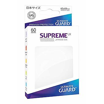 Ultimate guardia SUPREMA UX Math maniche giapponese dimensioni 60-Pack