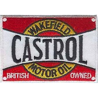 Castrol Wakefield iron-on/sew-on cloth patch  (ff)