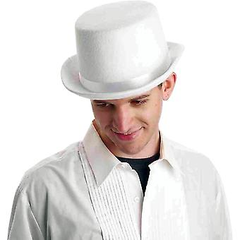 Top Hat White Deluxe For Adults