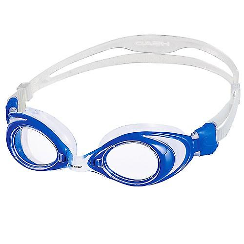 HEAD Vision Swimming Goggles - Clear Lens - Blue Frame