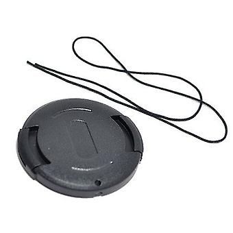 Dot.Foto 43mm Snap On Lens Cap with string / leash for Canon HG10, HV20, HV30 | Canon LEGRIA/VIXIA HF M40, HF M41, HF M46, HF M50, HF M52, HF M56, HF M400, HF M406, HF M500, HF M506, HV40