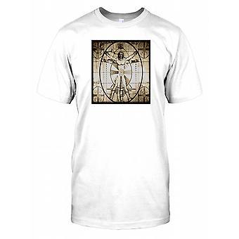 Vitruvian mann bilde Mens T-skjorte