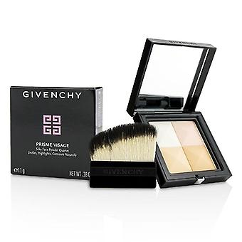 Givenchy Prisme Visage Silky Face Powder Quartet - # 2 Satin Ivoire - 11g/0.38oz
