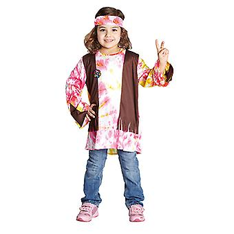 Hippie costume for kids of flower power child costume