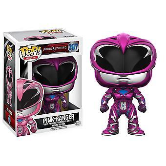 Funko-pop filmer Power Rangers rosa Ranger leksak