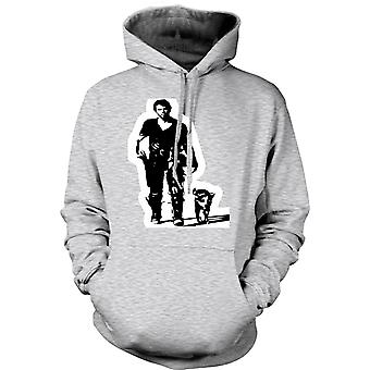 Womens Hoodie - Mad Max - BW - Cult