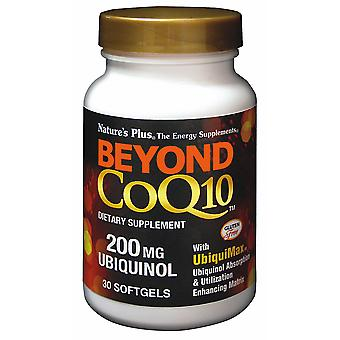 Natures Plus Beyond CoQ10 Ubiquinol 200mg , 30 Softgels