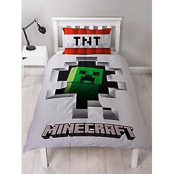 Juego de cubierta de duvete de dinamita Minecraft Creeper