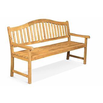 Lanterfant Jan houten tuinbank - bruin