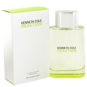 Kenneth Cole Reaction de Kenneth Cole Eau De Toilette Spray 3.4 oz/100 ml (hommes)