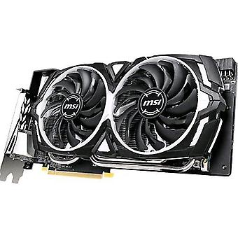 Msi rx-590-armor-8g-oc amd radeon rx 590 8gb ddr5 pci express interface 3.0 active cooling